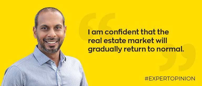 Ashvin Seeboo shares his opinion on the real estate market
